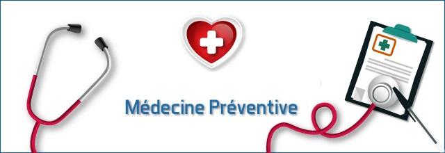 Evolution de la tarification du service de médecine préventive