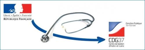 Transfert du secrétariat du Comité Médical Départemental